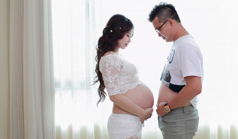 孕婦寫真-W30 / 唯美窗光 / 阿昌幸福影像工坊