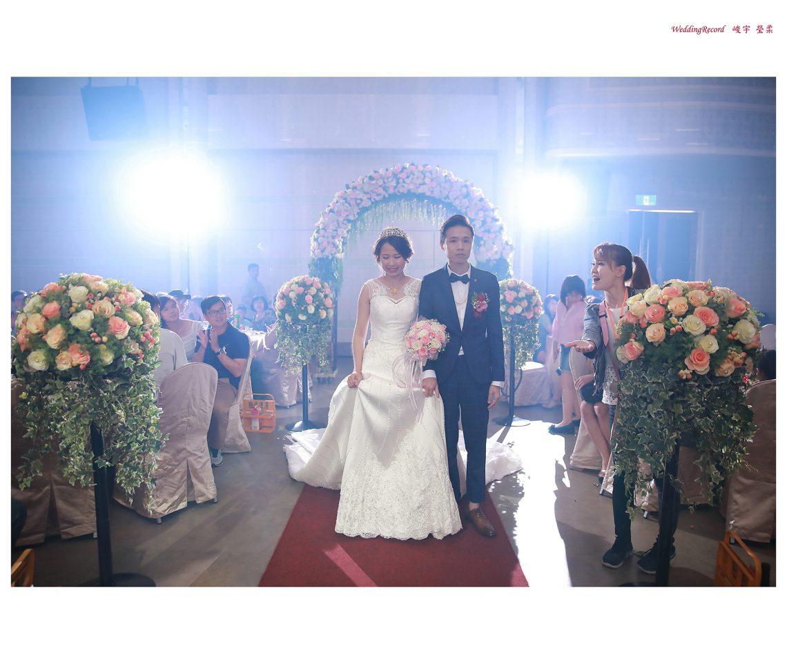[台南婚攝阿昌]峻宇 瑩柔 / 富霖 華平宴會館Fulin Banquet Hall